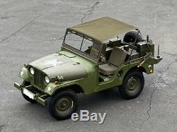 Willys Jeep M38 A1, Willys Jeep MB Jeepverdeck Ford GPW, Bikini Top, in khaki