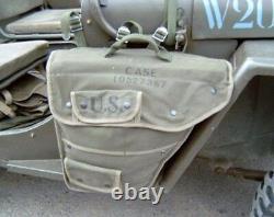 Willys Jeep MB, Ford GPW, Seitentasche! Für Fahrer- und Beifahrerseite