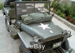 Willys Jeep MB, Ford GPW, Tasche auf der Motorhaube