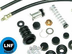 Willys Jeep MB Ford Gpw Brake Hose Set Wheel Cylinder Master Cylinder Kit 42-45