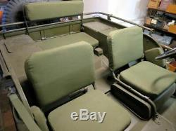 Willys Jeep MB, Ford Gpw, ´ S ma, Sitzpolsterset di U. S. Tela Tessuto