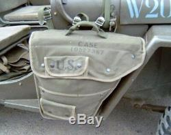 Willys Jeep MB, Ford Gpw, Side Pocket! For Driver And Passenger Side