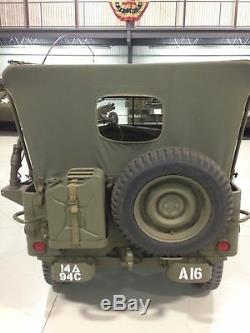 Willys Jeep MB, Ford Gpw, Sommerverdeck from Original u. S. S. Fabric, Top