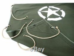Willys Jeep MB, Ford Gpw, Tarpaulin for Pendant, Trailer Hood