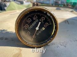 Willys MB Ford GPW Jeep WW2 Original Speedometer