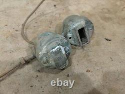 Willys MB Ford GPW Jeep WW2 Original Yankee Blackout Lights (Pair)