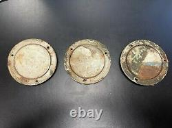 Willys MB Ford GPW Jeep WW2 thought to be Original Yankee Reflectors (X3)