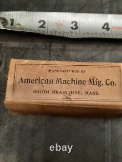 1901 Vintage Spark Plug Perfection Antique Auto Motos Trog 2 Plugs