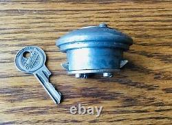 1920s 1930s Studebaker Oakes Espare Tire Lock Avec Logo Key Vtg Accessoire Extérieur