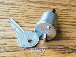 1920s Lock Cylinder Avec Yale Key Vtg Antiquité Précoce