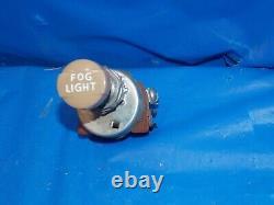 1930s Années 1940 Original Vintage Accessoire Fog Light Switch Chevy Ford Flat Head