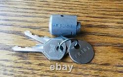 19321935 Ford Ignition Lock Cylinder Withhurd Keys Vtg 1930s Nos