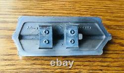1933 1934 Pontiac Crank Hole Cover Vtg 1930s Gm Garniture De Gril Extérieur