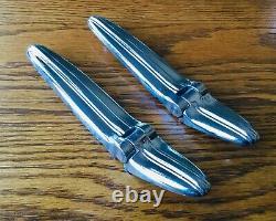 1935 1936 Chevrolet Trunk Hinge Set Vtg 1930s Gm Nors Couvercle De Pont Lh Rh