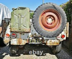 1942 Ford Gpw Militaire