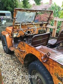 1943 Ford Gpw Septembre Jeep