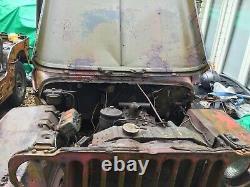 1945 Ford Gpw Février Jeep