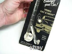 1950 Antique Automobile Fender Parking Guide Nos Vintage Chevy Ford Jalopy Vw