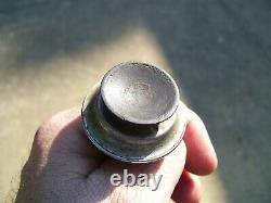 1950 Antique Automobile Tel-tru Auto Thermomètre Vintage Chevy Ford Jalopy Vw