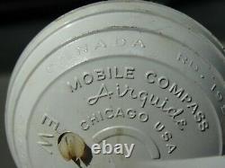 1950 Antique Compass Automobile Accessory Air Guide Vintage Chevy Hot Rat Rod
