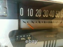 1953 1954 1955 Ford Pickup Dash Panel D'origine Speedometer Gauges Cluster