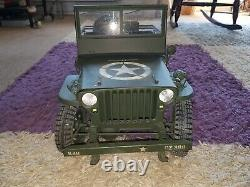1/6 Échelle Willys MB Jeep Ford Gpw 1945 Jeep Militaire