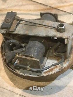 50 Ans D'origine 40s 1930 Vintage Perruque Wag Light Switch Pour Les Pièces / Restauration Oem