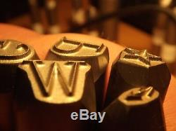 8 MM Timbres Set Punch Stamp Punch Ford-gpw-jeep B