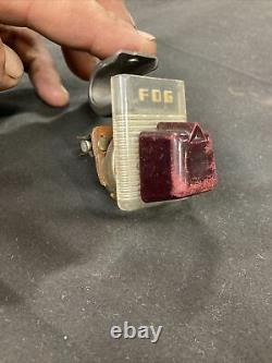 Accessoire Vintage Des Années 1940 Sous Dash Fog Light Switch Chevy Ford Bomb Og