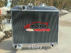 Alu Radiateur Pour Jeep Willys MB M38 Cj-2a Ford Gpw D5 Cj-3a Camion 463 473 41-52