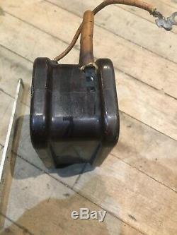 Années 1920. 30s Bougie Ac Coil Testeur Faire Cuire La Lumière Vintage Antique Auto