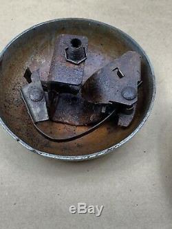 Antique Tu-ton Chimes Pied De Bell Bermudes Gong Sutone Corp Accessoire Rat Hot Rod
