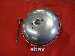 Antique Tu-tone Carillons Foot Bell Bermuda Gong Sutone Ford Modèle T A B Rat Rod Gm