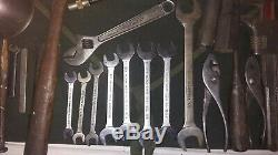 Après Guerre Willys MB Ford Gpw Jeep Jack, Vlchek Wrenches, Alemite & Toolbag