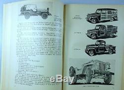 Betriebshandbuch Den Jeep Für, Zuerl Um 1950 Willys Overland MB Ford Gpw