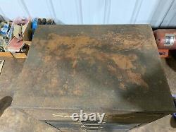 Boîte Antique Antique De Plateau De Plateau D'armoire De Coffret De Pièces De Vent Antiques De Cru Avec Des Pièces De Service