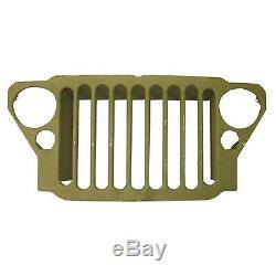 Calandre Pour Jeep Willys MB Et Ford Gpw 1941-1945 Estampillée À 9 Lattes 12021.99 Omix-ada