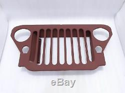 Calandre Steel Jeep MB Ford Gpw 41-45