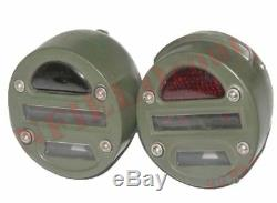 Cat Eye Rücklicht Paar Presto Für Militär Jeeps Willys MB Lkw Ford Gpw