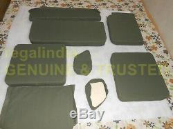 Complete Coussin Canvas Set Pour Ford Jeep Willys MB Militaire Gpw 1941-1948