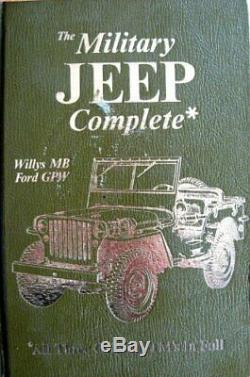 Complete Jeep Militaire, Willys MB / Ford Gpw Les Trois Par États-unis. Département De