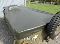 Couverture De Pluie Willys Jeep Abdeckung Polyamide Personnant Verdeck Ford Gpw Hotchkiss