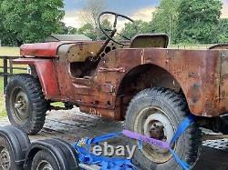 Début 1942 Script Ford Gpw Jeep Projet