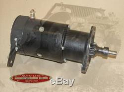 Demarreur Mz 4113 A1245 Neuf Marquage Autolite Tot 6v Jeep Willys Ford Gpw