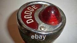 Dodge 20's-30's Arrière Tail Light License Plate Assemblage Pièces Rat / Tige Chaude