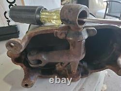 Ferme Fraîche! Running Board Air Pump, 1917, Dead Easy Air Pump, Par Globe Mfg Co