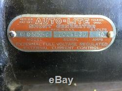 Générateur G630 Studebaker Us6 Ford Gpw Willys MB Jeep Autolite Geg-5102c 6v 40a