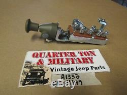 Interrupteur Push Pull A-1332 Par MV Pièces De Rechange Fit Willys MB Ford Gpw Jeep