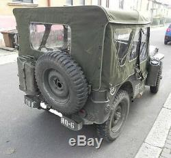 Jeep MB Jeepverdeck Willy Ford Gpw, Komplettes Winterverdeck Aus U. S. Toile