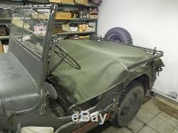 Jeep MB Willy, Ford Gpw, Bâche Arrière, Arrière Bâche